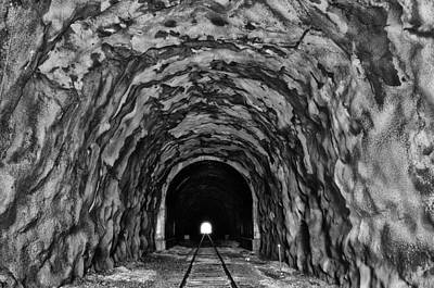 Light At The End Of The Tunnel Poster by Bill Cannon