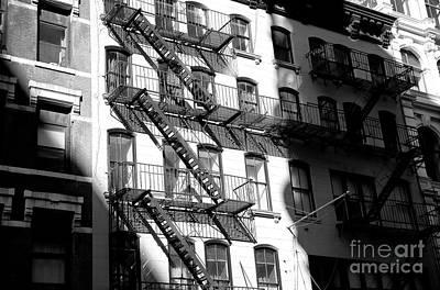 Light Falls On Greenwich Village Poster by John Rizzuto