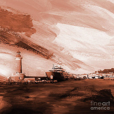 Light House 2ac Poster by Gull G
