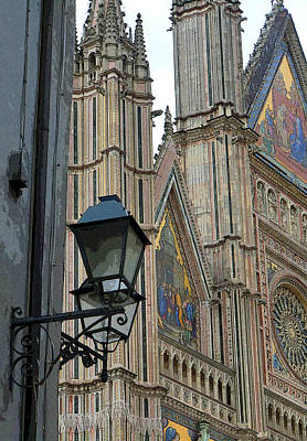 Light Of Orvieto Poster by Mindy Newman