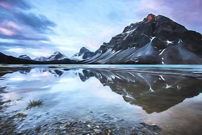 light on the peak II Poster by Jon Glaser