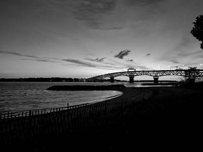 Light Over Bridge Poster