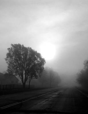 Light Through A Fog Poster