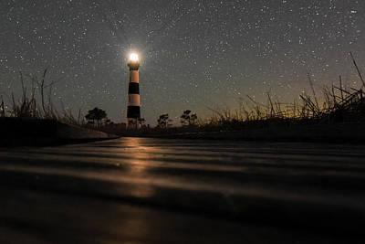 Light Up The Path Poster by Jeremy Clinard
