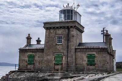 Lighthouse At Blacksod Poster by Frank Fullard