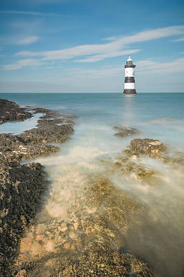 Lighthouse At Penmon Poster by Andy Astbury