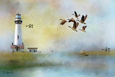 Lighthouse Bay Poster