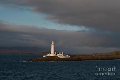 Lighthouse Eilean Musdile Scotland Poster