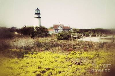Lighthouse In Maine Poster