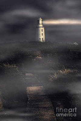 Lighthouse Way Poster by Jorgo Photography - Wall Art Gallery
