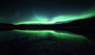 Lighting Up The Dark Poster by Tor-Ivar Naess