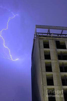 Lightning On Rivadavia Poster