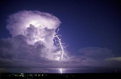 Lightning Poster by Pekka Parviainen