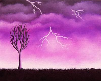 Lightning Scars Poster