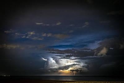 Lightning's Water Dance Poster