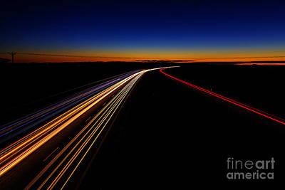 Lights In The Night Poster by Veikko Suikkanen
