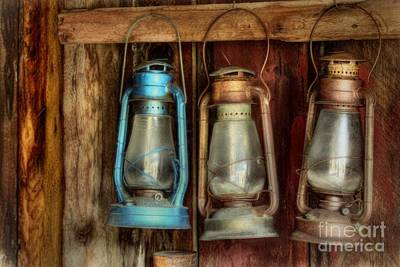 Lights Of Bodie Poster by Benanne Stiens