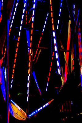 Lights Of The Ferris Wheel Poster