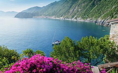 Ligurian Sea, Italy Poster