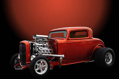 Lil Deuce Coupe Poster by Jim  Hatch