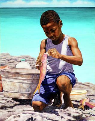 Lil Fisherman Poster