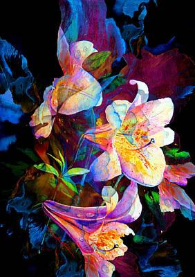 Lily Fiesta Garden Poster by Hanne Lore Koehler