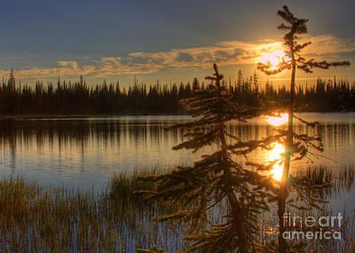 Lily Lake Sunset  1 Poster