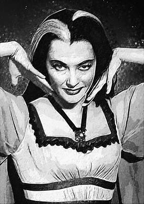 Lily Munster Poster
