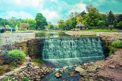 Lime Kiln Park Waterfall Poster