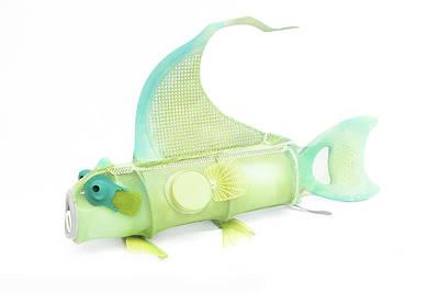 Lime Netfish Shoulderbag Poster