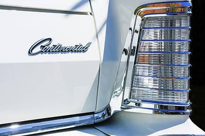 Lincoln Continental Mark Iv Head Light -0149c Poster by Jill Reger