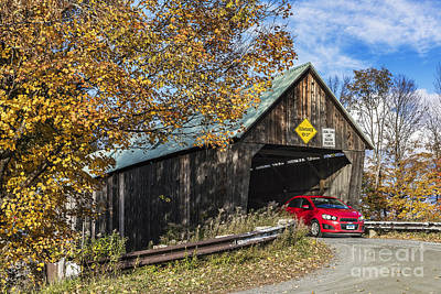 Lincoln Covered Bridge Poster