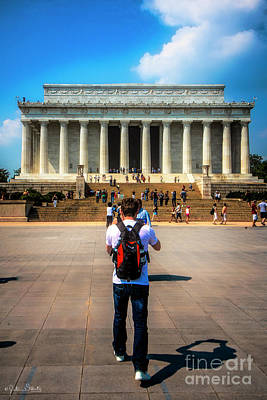 Lincoln Memorial #2 Poster by Julian Starks