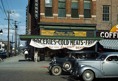 Lincoln, Nebraska, Eagle Fruit Store Poster by Everett