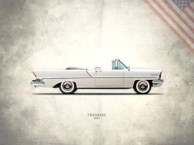 Lincoln Premiere 1957 Poster