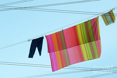 Lines In The Sky Poster by Ana Mireles