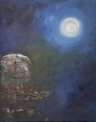 Lingam Series Poster by Sandya Shetty