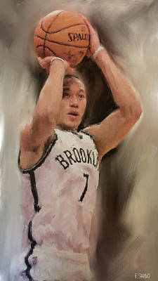 Linsanity Poster by Frank Sarno