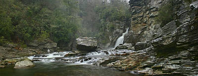 Linville Gorge Panorama Poster by Keith Clontz