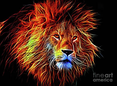 Lion 12818 Poster