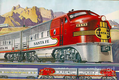 Lionel Train Catalog  Poster by Garland Johnson