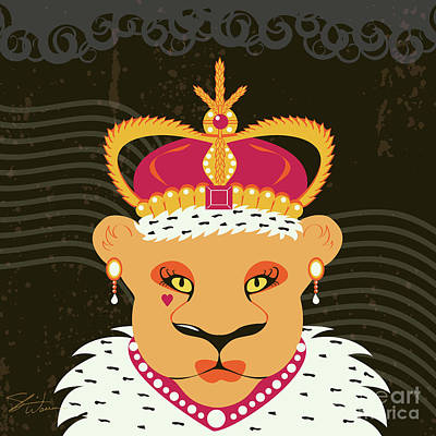 Lioness Queen Poster