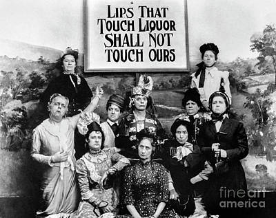 Lips That Touch Liqour Shall Not Touch Ours Poster by Jon Neidert