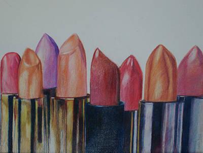 Lipsticks Poster