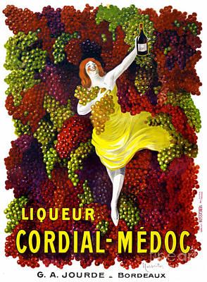 Liquer Cordial-medoc Vintage Poster Restored Poster