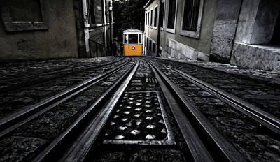 Lisbon Tram Poster by Jorge Maia
