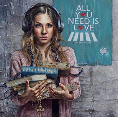 Listen 2 Poster by Brent Schreiber