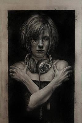 Listen 9  Poster by Brent Schreiber