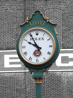 Lititz Clock Poster