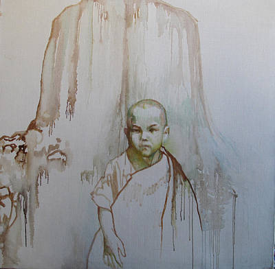 Little Budha Poster